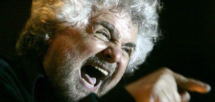 """Satiriker Grillo: """"Ich mach' lieber den Clown"""""""