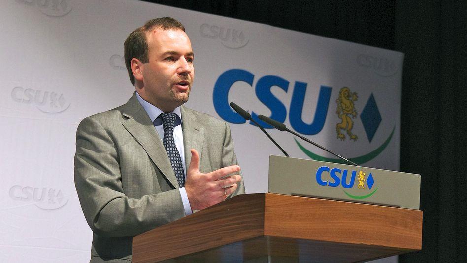 CSU-Politiker Weber (Archivbild): Kritik am Safe-Harbor-Abkommen