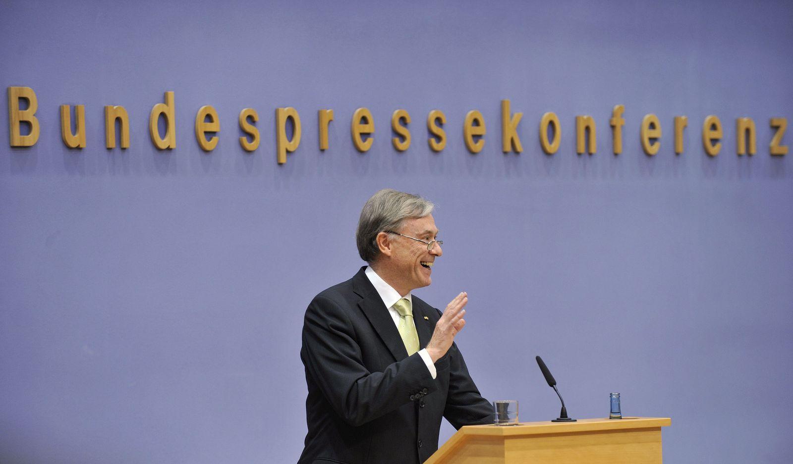 horst köhler DEU Jahrestag Bundespressekonferenz