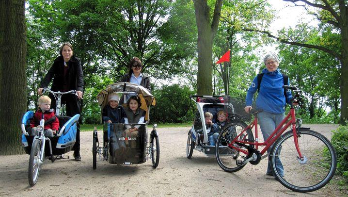 Kindertransporter: Im Dreirad zur Kita