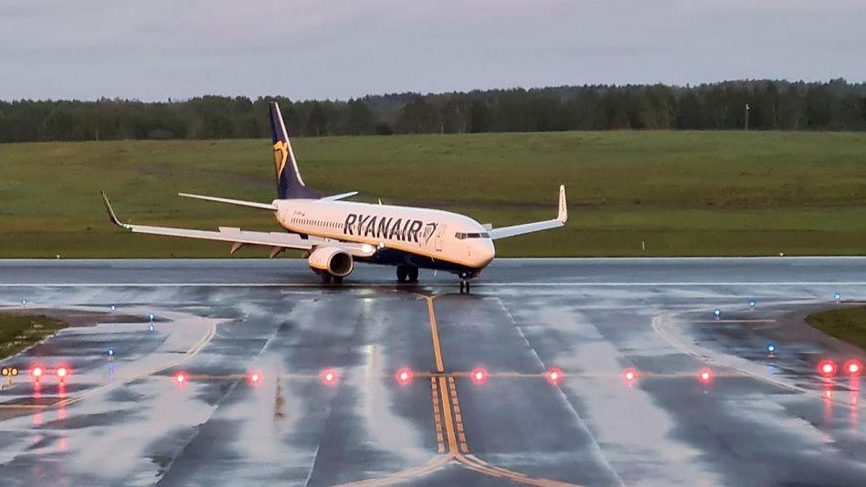 Zwangsumgeleitete Ryanair-Maschine: Landung in Vilnius mit Stunden Verspätung