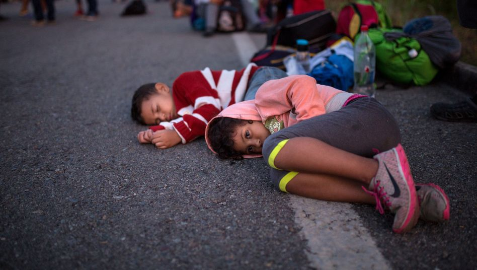 Kinder auf der Flucht in die USA