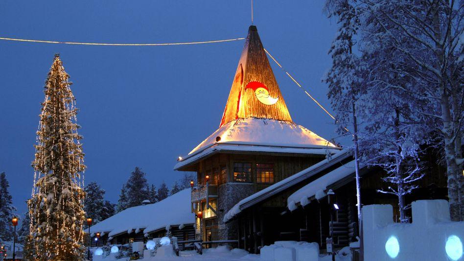 Santa Claus Village in Rovaniemi: Weniger Touristen aus Krisenstaaten