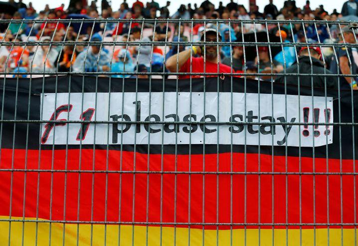 Formel-1-Fans am Hockenheimring