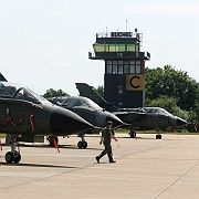The German air force base at Büchel: American nuclear weapons are still stored in Germany.