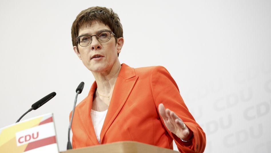 Annegret Kramp-Karrenbauer, CDU-Vorsitzende