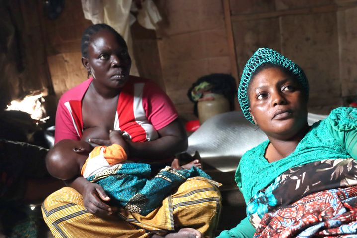 Aliate Ajagun's (left) greatest fear is having to leave Makoko.