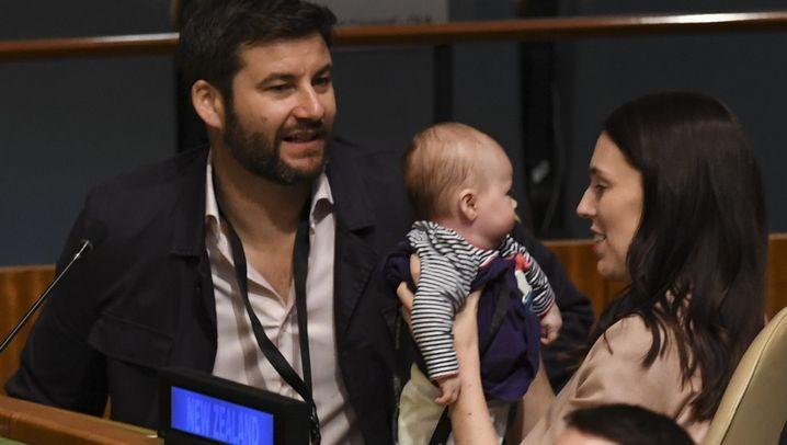 Fotostrecke: Babybesuch bei der Uno