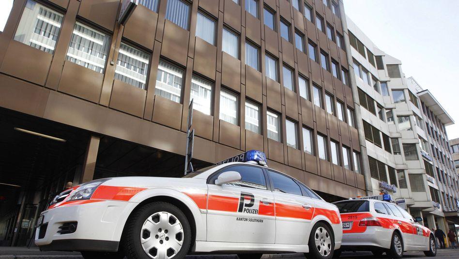 Polizeieinsatz in Olten: Sprengsatz explodierte gegen 8.15 Uhr