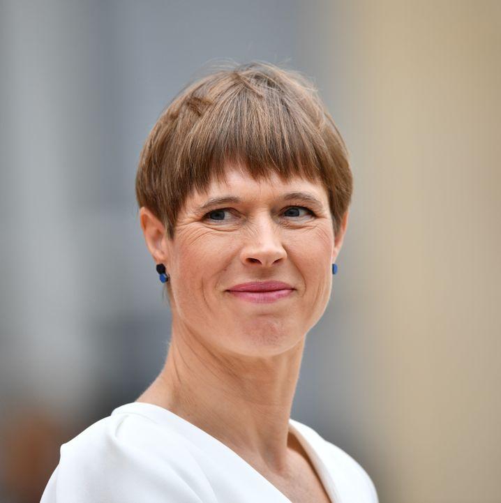 Kersti Kaljulaid, estnische Staatspräsidentin