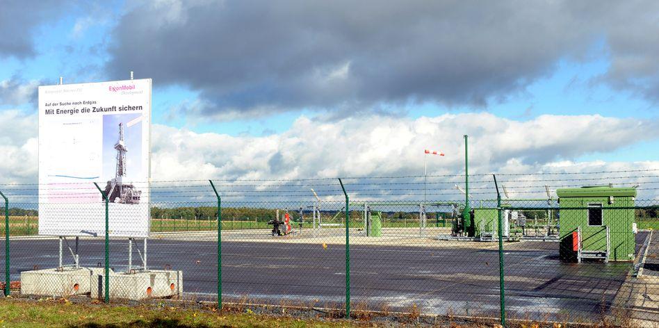 Bohrfeld in Niedersachsen: Umstrittene Methode der Gasförderung