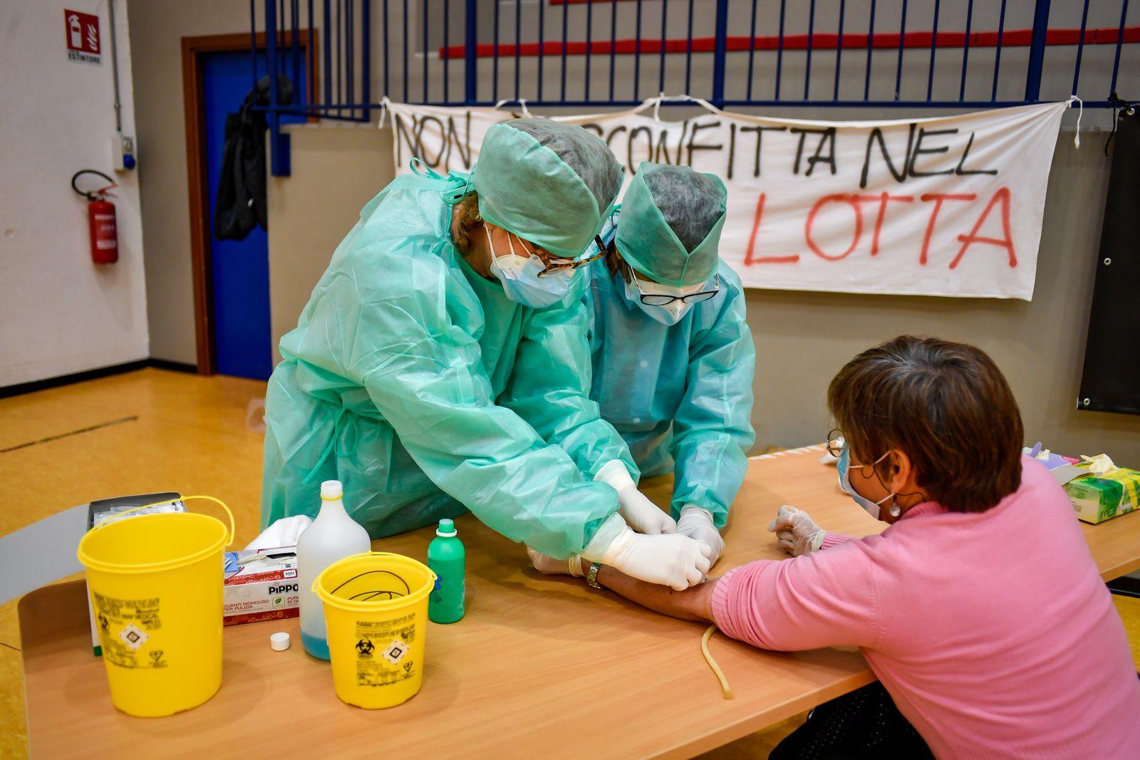 Italien testet ab Montag 150000 Menschen auf Corona-Antikörper
