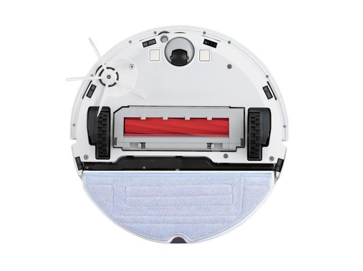 Die Unterseite des Roborock S7: Den Wischmopp kann der Roboter anheben, wenn auch nur ein paar Millimeter