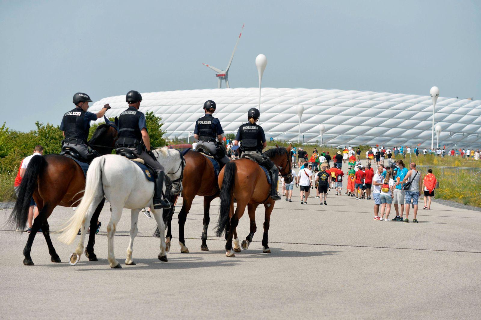 19.06.2021, Fussball, Europameisterschaft 2020, Gruppenspiel Gruppe F, Portugal - Deutschland, in der Fußball Arena Münc