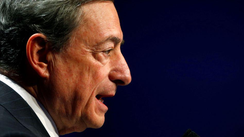 Mario Draghi im November 2018 in Frankfurt