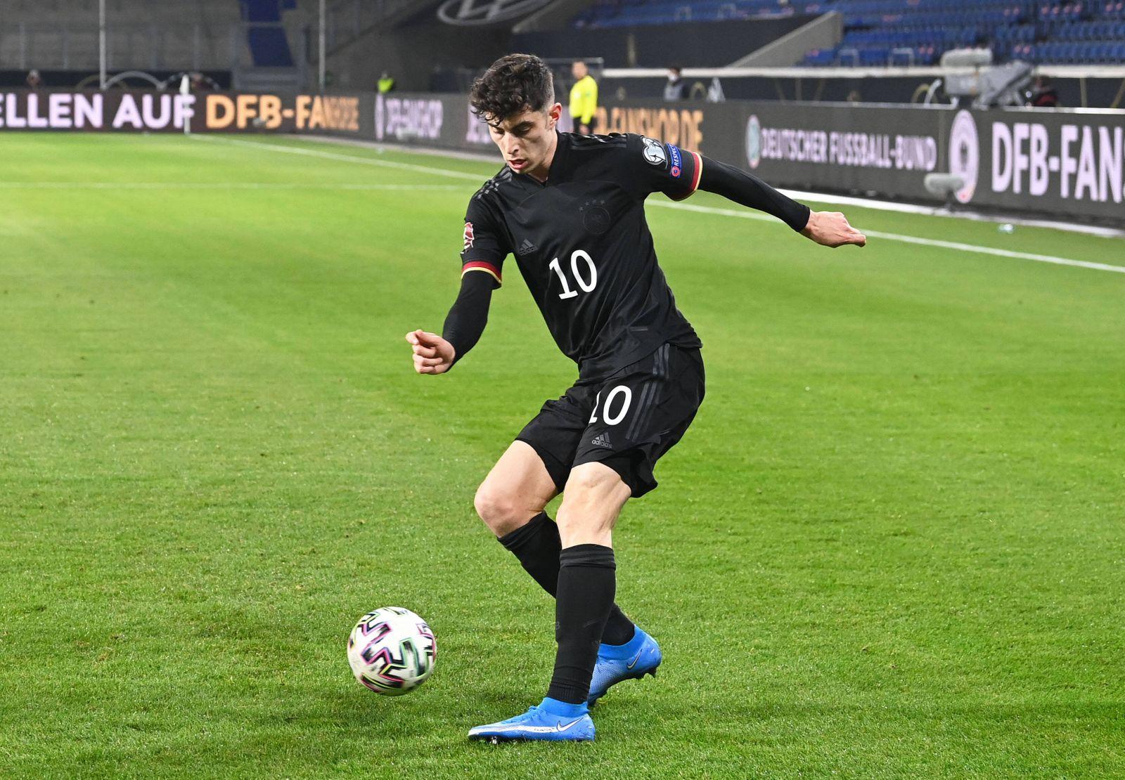 Fussball, Herren, Saison 2020/21, WM-Qualifikation (Gruppe J, 1. Spieltag) in Duisburg, Deutschland - Island, Kai Havert