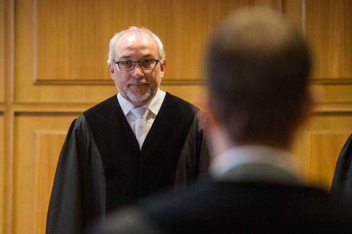 Richter Roland Kleinschroth (Archivfoto aus einem anderen Verfahren)