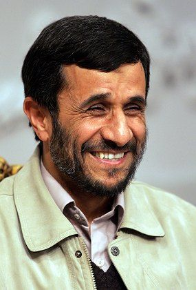 Iranian President Mahmoud Ahmadinejad made an unwanted appearance in the pages of the Tehran Times on Wednesday.