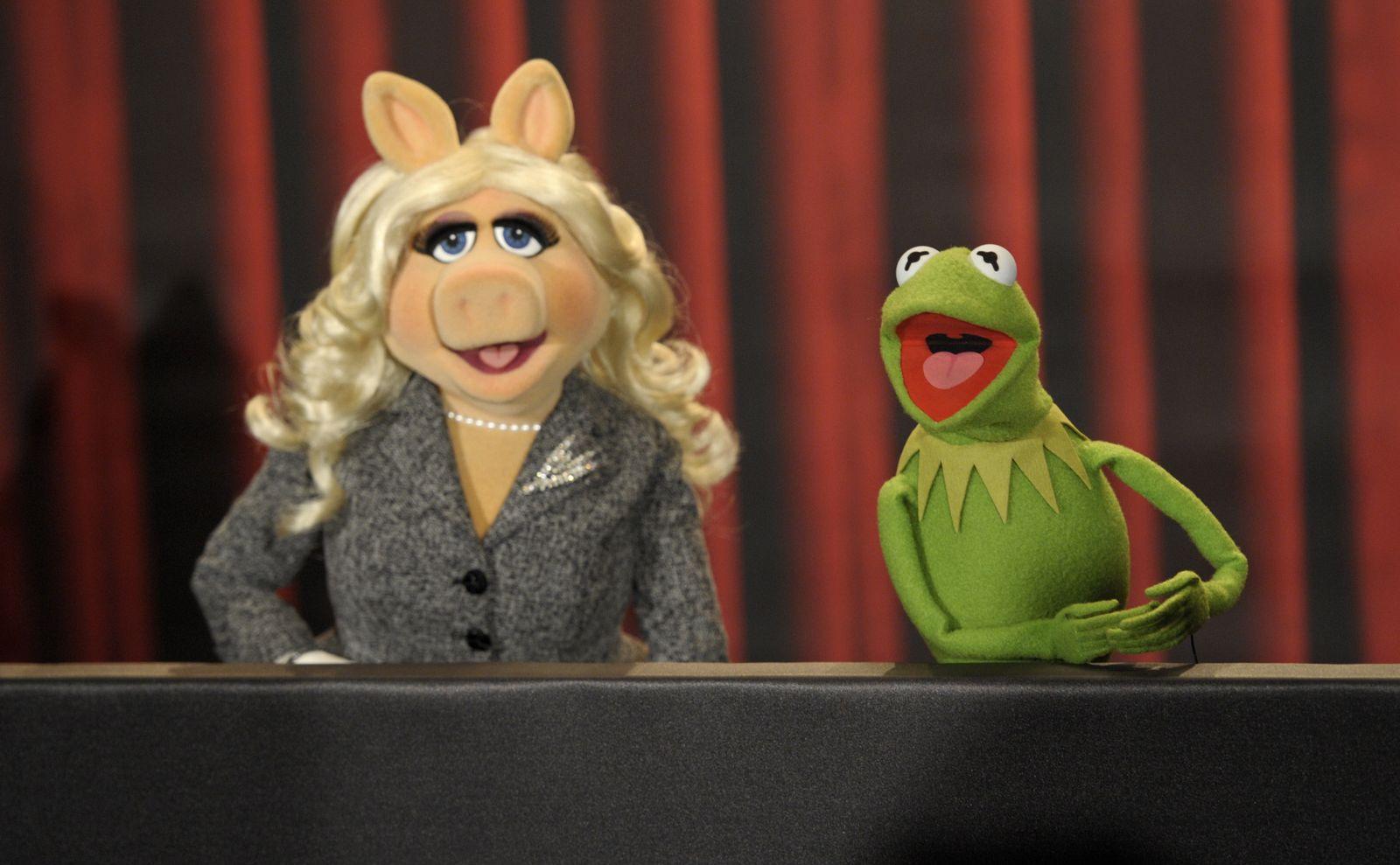 NICHT VERWENDEN Kermit / Miss Piggy / Die Muppets