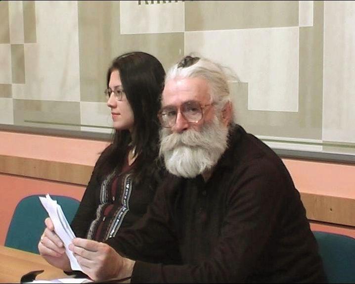 Radovan Karadzic, in seiner Verkleidung als Heilpraktiker Dr. Dabic (2008)