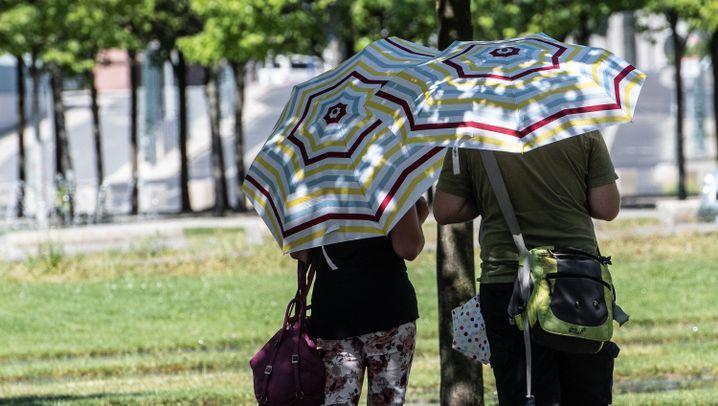 Wetter in Deutschland: Hitze, Trockenheit, Gewitter