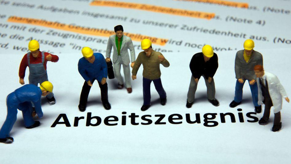 Geheimcodes in Arbeitszeugnissen sorgen wieder für Ärger