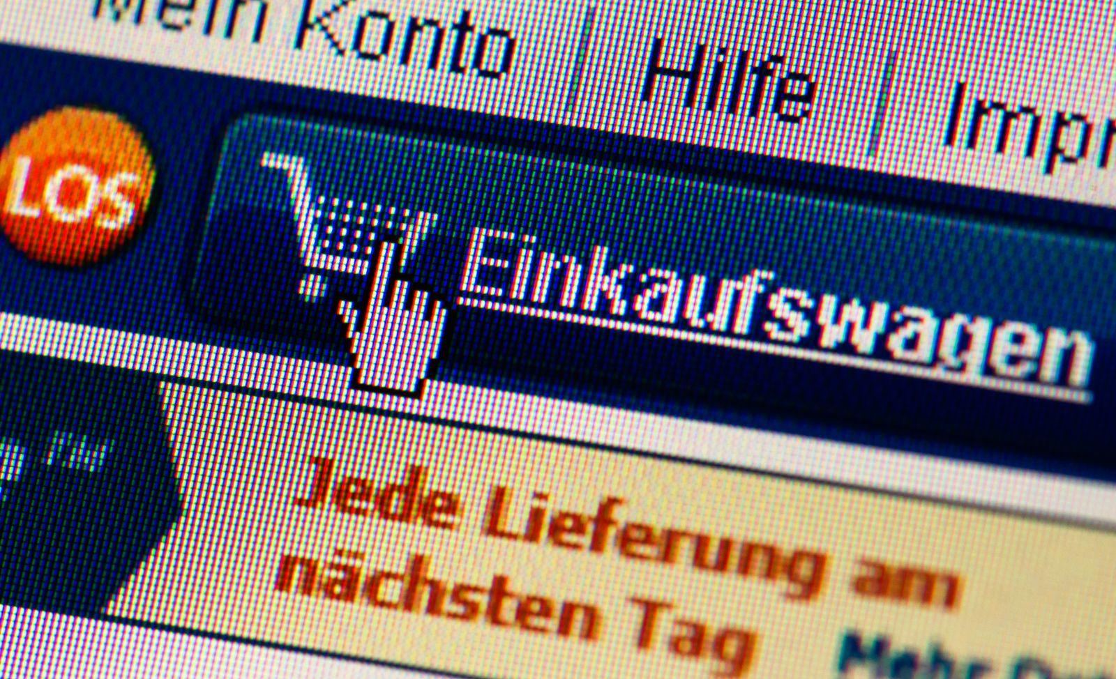 Online-Shopping Symbolbild