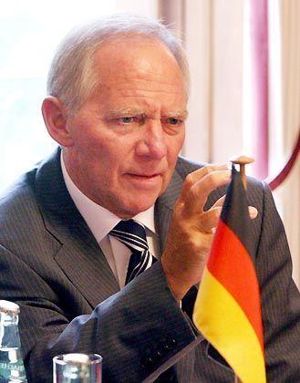 Bundesinnenminister Schäuble: Von Informationspannen könne keine Rede sein