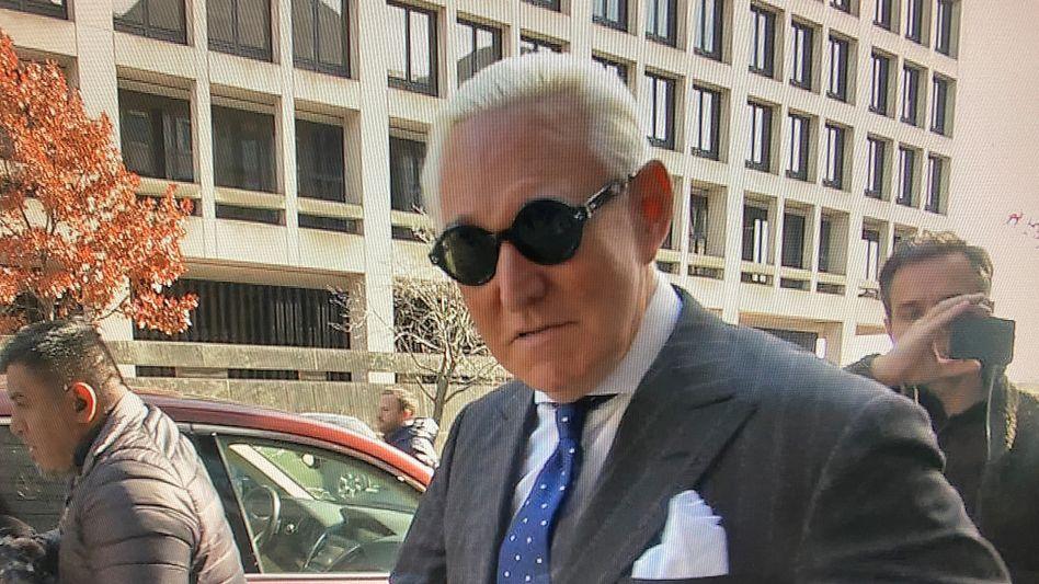 Trumps Ex-Vertrauter Roger Stone