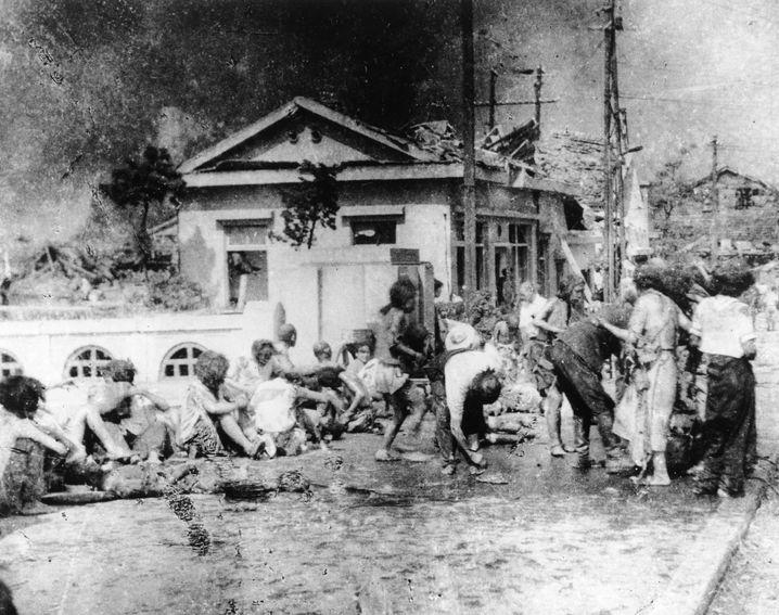 Schätzungen zufolge fielen rund 140.000 Menschen in Hiroshima dem Atombombenangriff zum Opfer