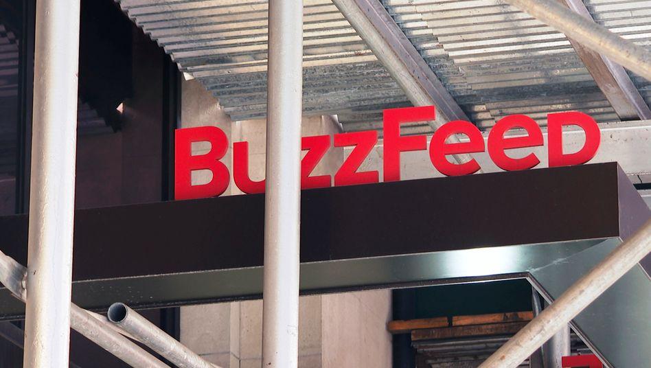 Die »Buzzfeed«-Redaktion in New York: Das Medienunternehmen kauft die »HuffPost«
