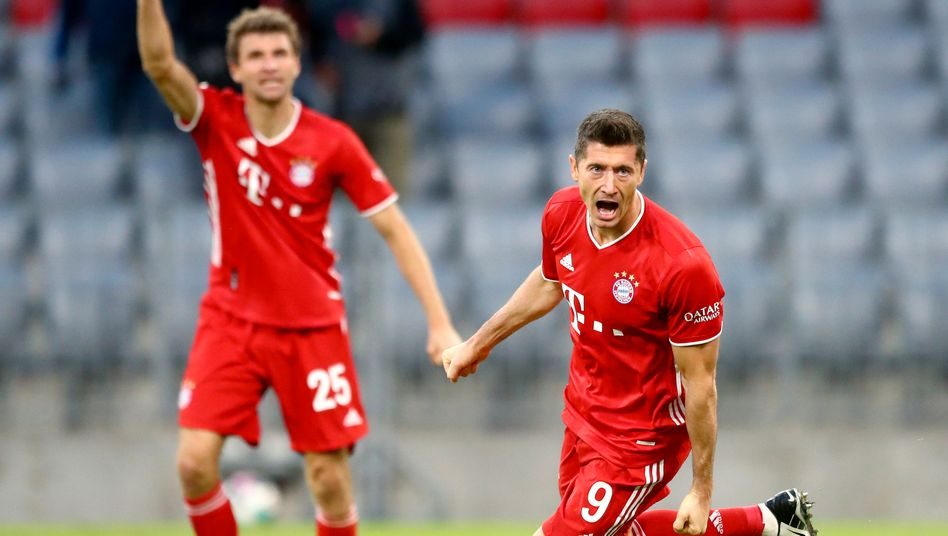 Vier Tore gegen Hertha: Robert Lewandowski