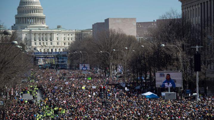Landesweiter Protest in den USA: Die Wut auf Waffen