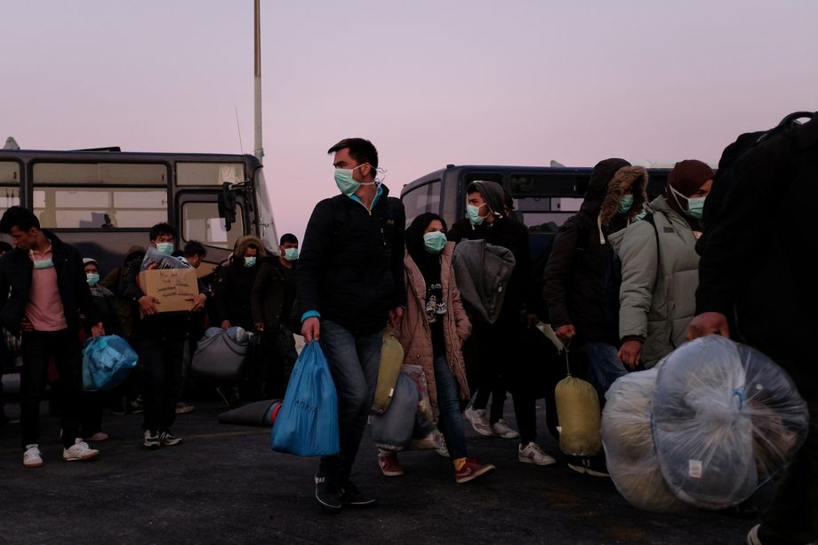 Trotz der drohenden Krise werden weiterhin Menschen nach Lesbos gebracht