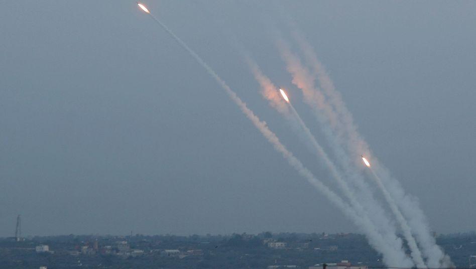 Raketen aus dem Gazastreifen