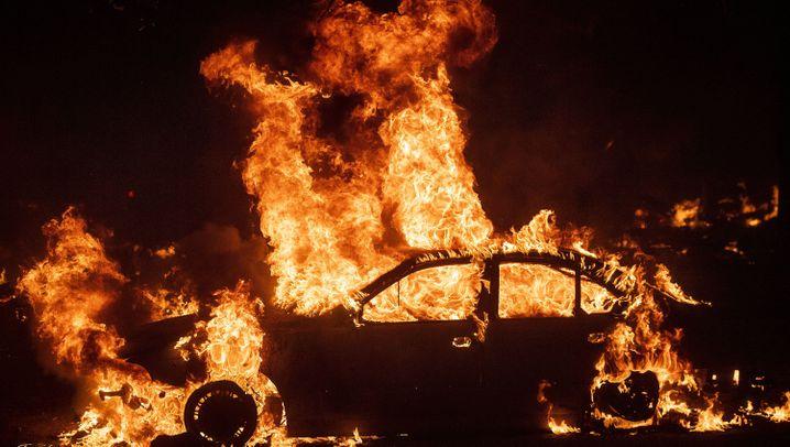 Waldbrände in Kalifornien: Kampf gegen die Flammen