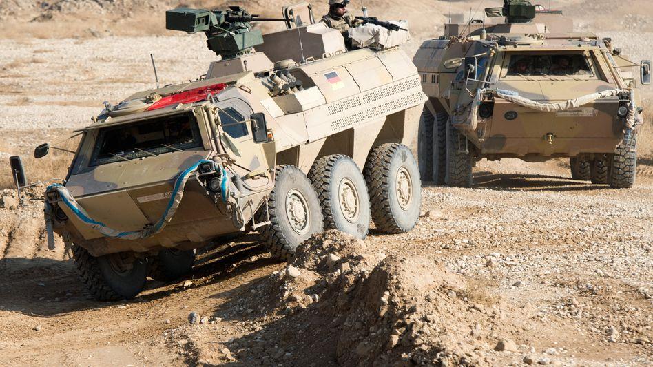 Bundeswehrsoldaten in Masar-i-Scharif im Dezember: Angriffe und Anschläge nehmen im Norden Afghanistans zu