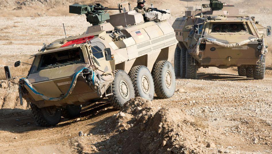 Bundeswehr im Einsatz (Archivaufnahme aus Afghanistan): Einsatz auch in Syrien?