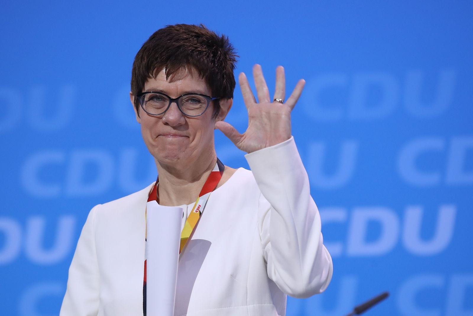 CDU/ Parteitag/ Kramp-Karrenbauer