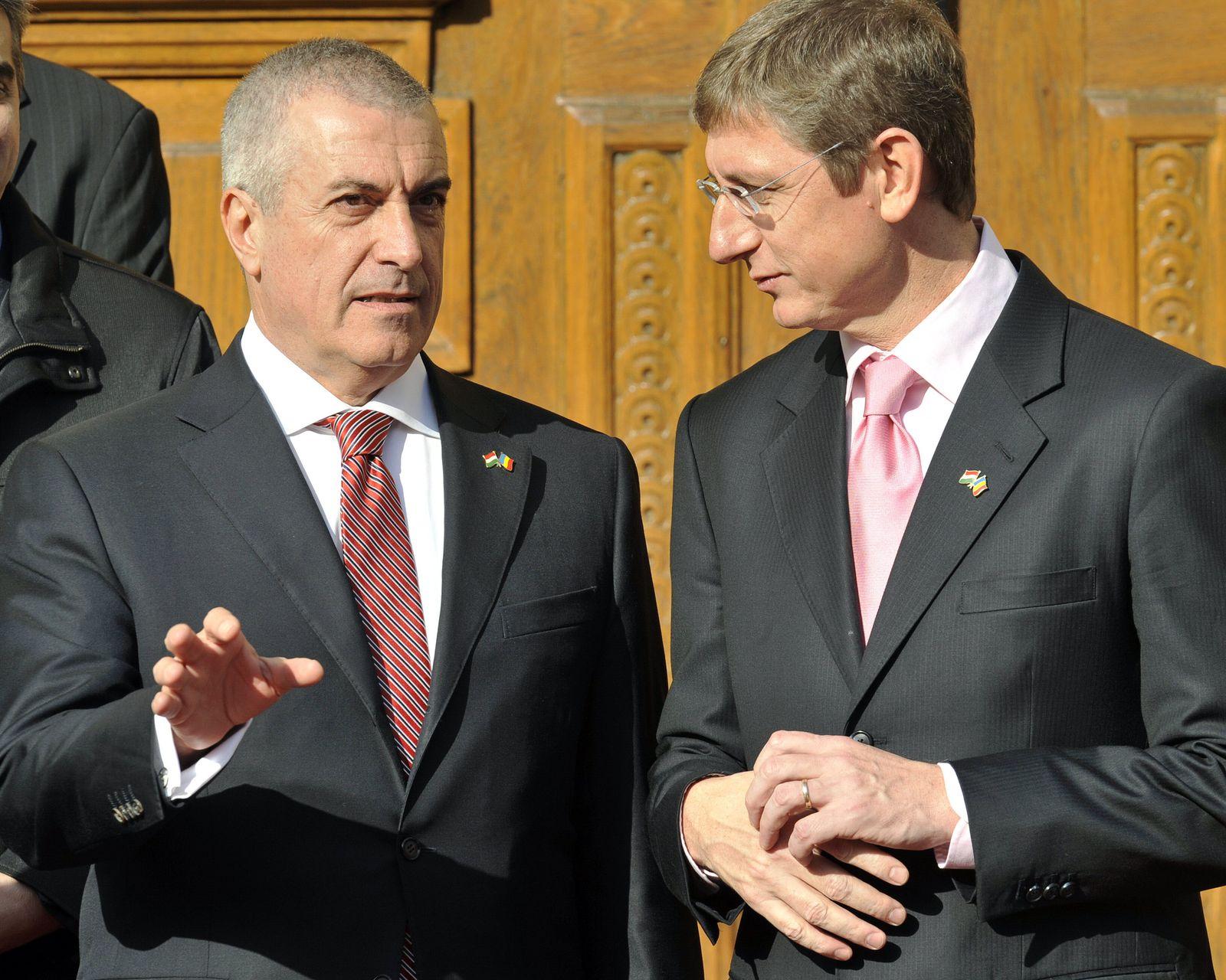 HUNGARY-ROMANIA-GYURCSANY-TARICEANU
