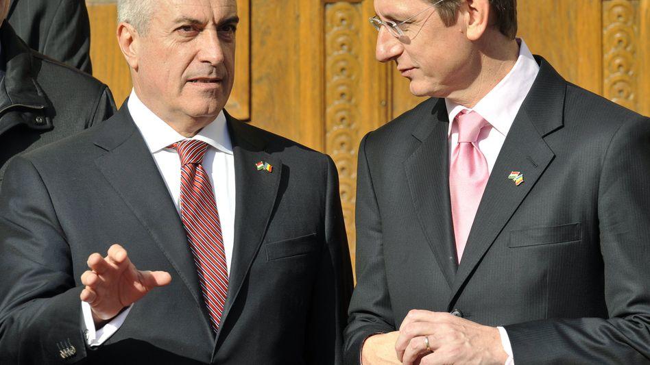 Calin Popescu Tariceanu im Jahr 2008