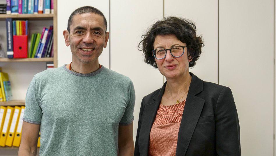 """Özlem Türeci mit ihrem Ehepartner Uğur Şahin: """"Diese Systeme sind nicht immer perfekt"""""""
