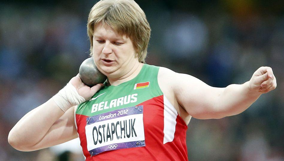 Kugelstoßerin Ostaptschuk: Doping im Essen