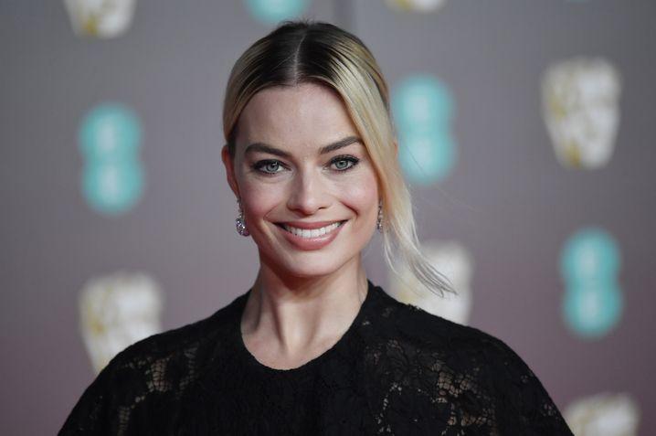 """Margot Robbie bei den Bafta-Awards: """"Seine Worte, nicht meine"""""""