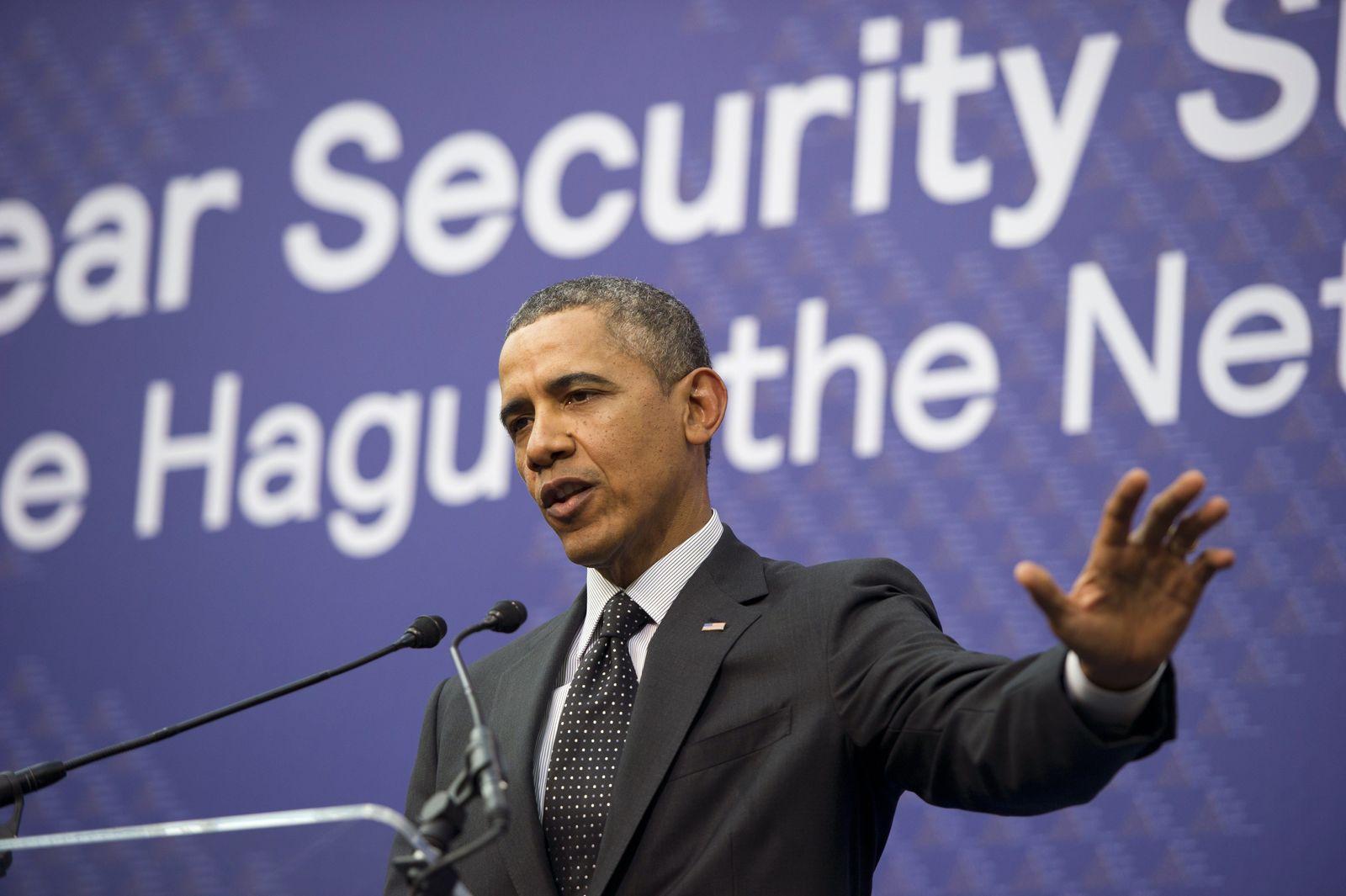 Obama/ den Haag