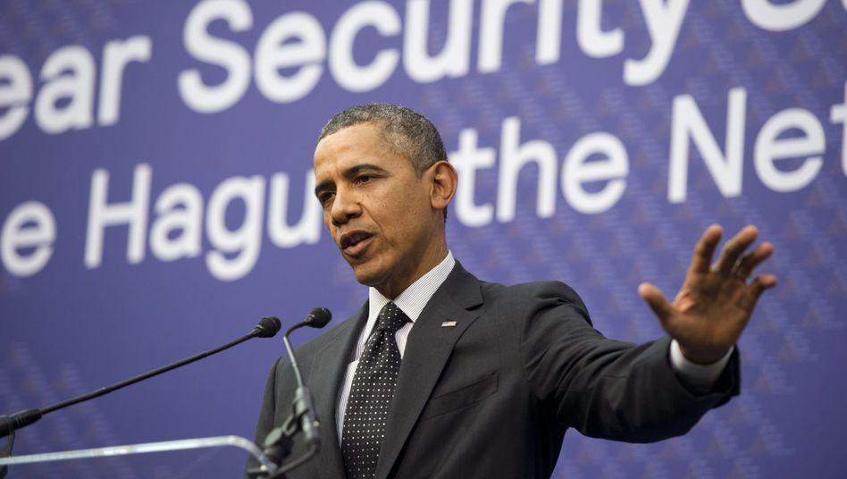 """US-Präsident Obama in Den Haag: """"Es liegt an Russland, sich verantwortungsvoll zu verhalten"""""""