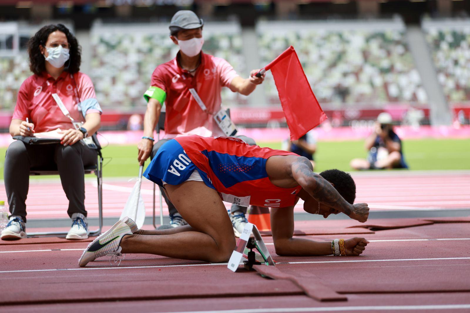 Athletics - Men's Long Jump - Final