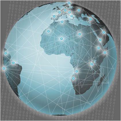 Weltumspannender Freundeskreis: Das globale Sozialnetz soll die Marketingplattform der Zukunft werden