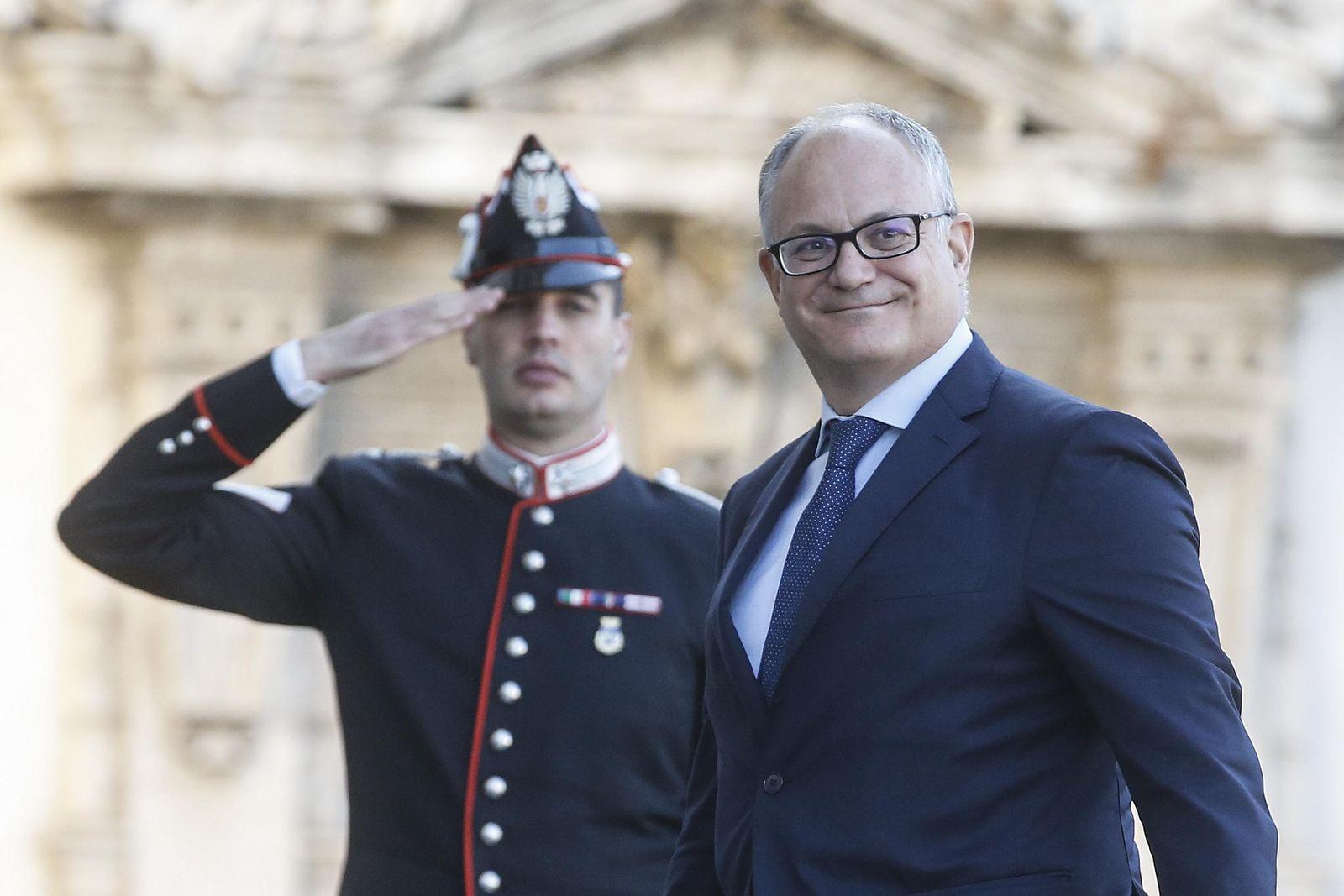 Italien/ Finanzminister/ Roberto Gualtieri