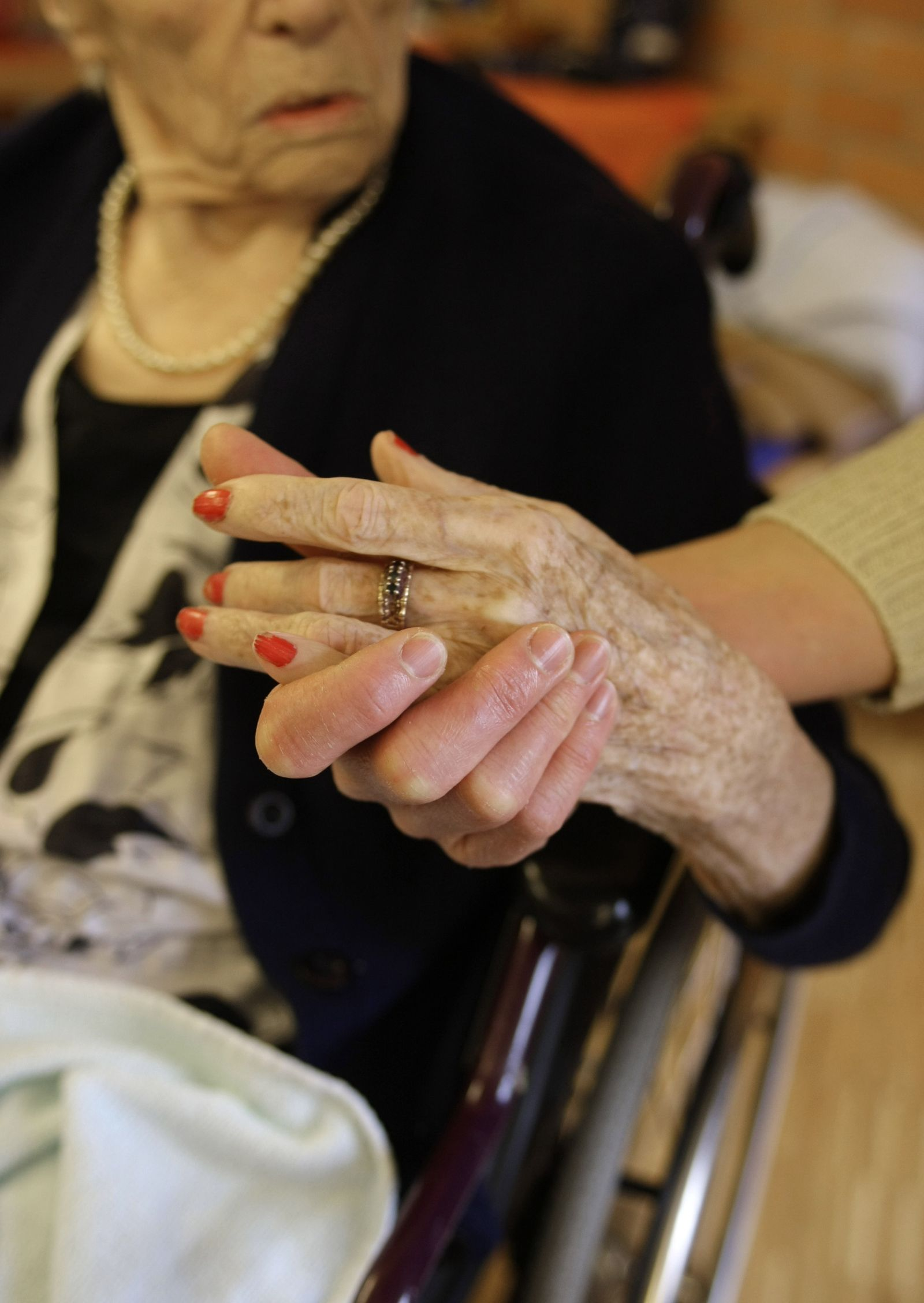 Symbolbild Pflegeversicherung / Altersheim / Demenz / Senioren